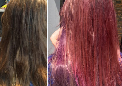 Pink and Purple by Josey