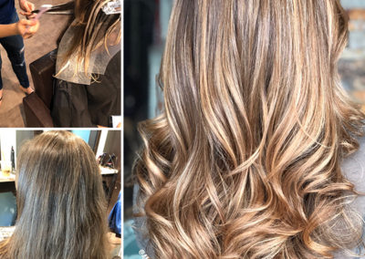 Balayage with Toner by Amanda