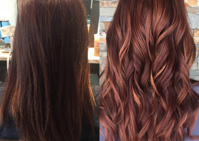 Hair Extension Transformation by Amanda