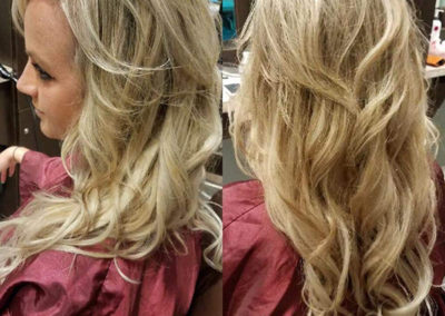 Heavy Highlight with Extensions by Michelle