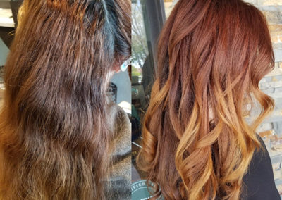 Red Ombre by Lauren